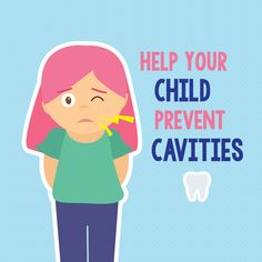 February is Children's Dental Health Month! Children's teeth are at risk for decay as soon as they appear, so teach oral care habits early!