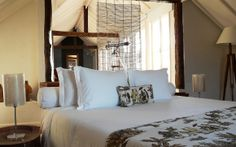 Una habitación muy acogedora del Hotel Santa Teresa Relais and Chateaux 5* de Rio de Janeiro #Brasil