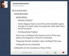 Hufflepuff- Tonks was a Hufflepuff too and she was too amazing for words