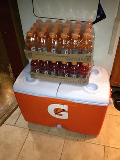 Free Gatorade Cooler and Gatorade posted by reader Jacqueline!