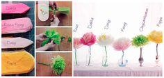Kreatív Anyabanya: Papírvirág készítése