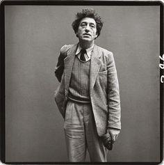 Sculptor/Painter Alberto Giacometti