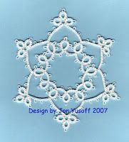 Tat-a-Renda: Free Patterns - Snowflakes
