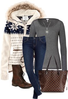 """Louis Vuitton Tote"" by melindatg ❤ liked on Polyvore"