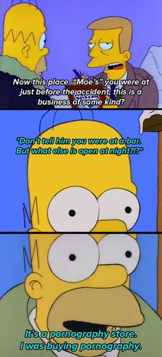 "31 ""Simpsons"" Quotes Guaranteed To Make You Laugh Every Time Simpsons Quotes, Simpsons Cartoon, Futurama, Tv Quotes, Laugh Quotes, Santa's Little Helper, Great Tv Shows, Homer Simpson, Cool Cartoons"