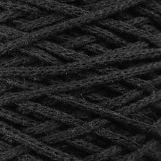 Macrame Chainy Cotton 02 čierna Macrame, Cotton