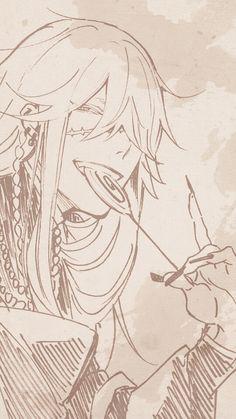 Imagen de anime, kuroshitsuji, and manga