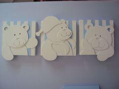 MDF com motivos infantis, dá para comprar pronto e pintar