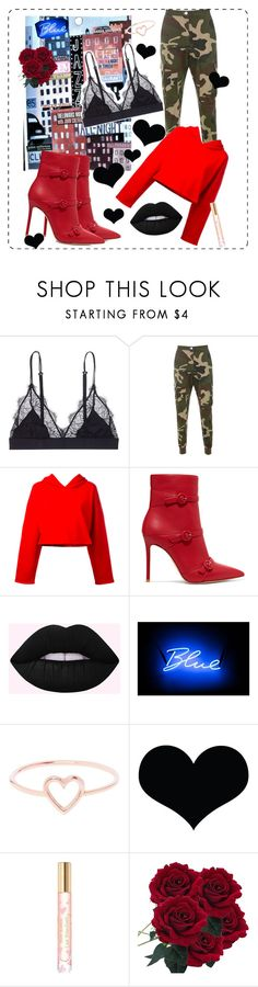 """""""😓"""" by pesmica ❤ liked on Polyvore featuring LoveStories, Golden Goose, Gianvito Rossi, Seletti, Love Is, Brika and Tory Burch"""