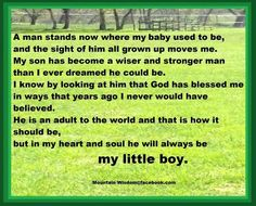 BABY TO MAN