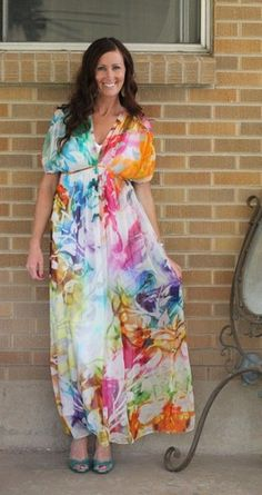 NWT Anthropologie Hemant Nandita Spectrum Caftan 0 Fits Size 2 $298 Sold Out   eBay