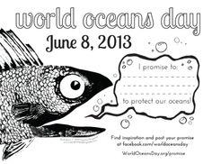 World Oceans Day Promise