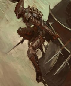 Dark Eldar: Darting Swiftly by ~Beckjann on deviantART