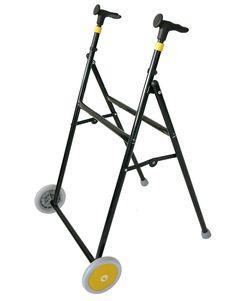 Andador Interior Air-On ZERO    Fabricado en hierro y termoplástico.   Empuñaduras ergonómicas y regulables en altura.  Plegable.  Ruedas fijas delanteras.  Disponible en siete colores dis...