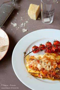 Auberginegratin met mozzarella - Hapjes Princess
