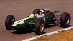 Jim Clark, Lotus 33 at Brands Hatch 1964