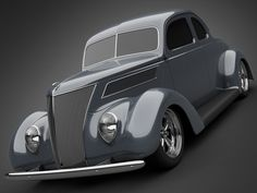 1937 Ford Coupe 5 Window 3D Model .lwo .max .obj .3ds | CGTrader.com