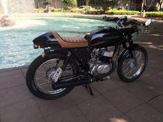 Suzuki 100cc Cafe Racer 2014 Año Trabajo Calle 5500 Km En