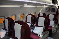 Review: Qatar First A320 Doha - Abu Dhabi - http://youhavebeenupgraded.boardingarea.com/2015/04/review-qatar-first-a320-doha-abu-dhabi/