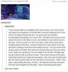 plot twist, monsters inc