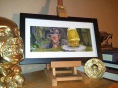 Indiana Jones  Idol 5x11 Poster Print by Jimbeanus on Etsy, $15.00