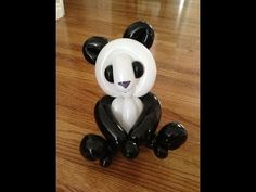 Panda Balloon Animal Tutorial (Balloon Twisting & Modeling #16) - YouTube by Mr. Boma's Balloons.