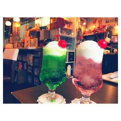 しゅわっと弾ける乙女ゴコロ。全国のかわいいクリームソーダのお店3選 MERY [メリー]