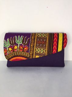 African Handmade Clutch by MutindaSimbaBusiness on Etsy