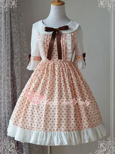 Lolita Kleid mit Printmuster - Milanoo.com