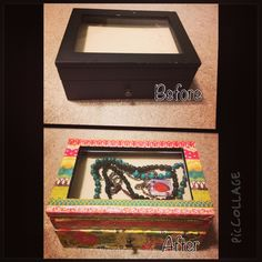 Mod Podge Jewelry Box A Smith of All Trades Pinterest Box