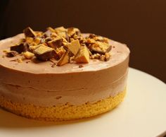 Choc Honeycomb Cheesecake Recipe