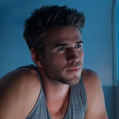 Only Liam Hemsworth could save the world from aliens and look this good doing it.