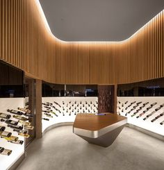 The wine distributor Mistral presented Studio Arthur Casas with the challenge of creating a store that would innovate the way their clients approach the wine world. Most of their sales are done through the internet, we had to conceive a space that...