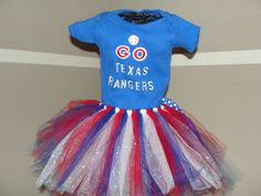 Texas Rangers Tutu!!!  I HAVE TO GET THIS!