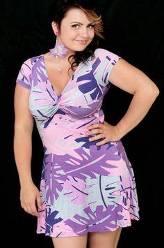 Täydellinen kesämekko pastellisävyillä #pastel #summer #dress #cybershop #violet #pink #blue