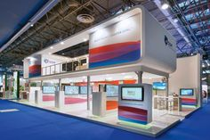 Stand from The Inside standbouw at FI in Paris -  200 m2 & 72 m2 upstairs