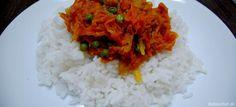 Fotorecept: Netradičná mrkvovo-zázvorová ryža s hráškom