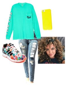 """""""Untitled #10"""" by kailynmelissa-1 on Polyvore featuring Victoria's Secret and adidas"""