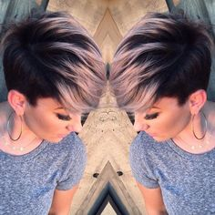 Adorable Pixie Haircut Ideas with Bangs Pastels Short Hairstyles – Undercut with Short Hair – Pixie Hairstyles with smokey pink hair Undercut Hairstyles, Cool Hairstyles, Undercut Pixie, Hairstyle Ideas, Beautiful Hairstyles, Long Undercut, Hairstyles 2018, Latest Hairstyles, Pixie Cut With Highlights