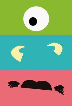 Monsters Inc @ boda-día-Dicha