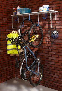 Neat idea for kids bikes and stuff