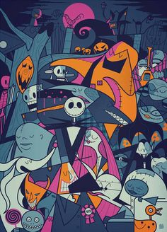 The Nightmare Before Christmas by Ale Giorgini