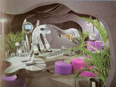 From the 1973 Bloomingdale's Book of Home Decorating   Аренда апартаментов в Аликанте Отдых в Аликанте, Испания http://domiknakostablanka.com/