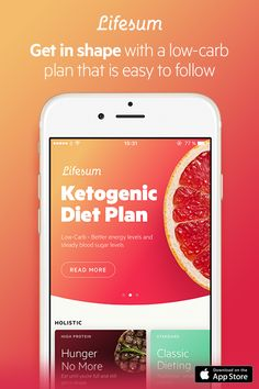 Healthy living has never been easier. Lifesum helps you eat smarter and achieve your health goals. Download it today to get started, it's free!