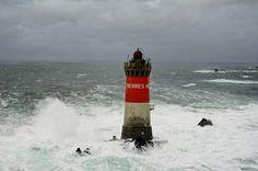 Phare des Pierres Noires  phare maritime du Finistère (France)