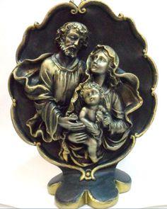 Sagrada Família de mesa - peça em gesso