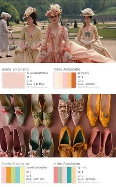 Marie Antoinette Movie, Marie Antoinette Costume, 18th Century Dress, 18th Century Fashion, Sofia Coppola, Movie Color Palette, Vintage Outfits, Vintage Fashion, Rococo Fashion