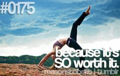 Reason #175 To Be Fit: because it's SO worth it.