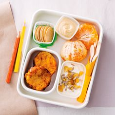 How to pack the perfect lunchbox for your kids - Pumpkin Frittatas + Snacks #Pumpkin #Frittata #Snack #Lunch #Lunchobx #LunchboxIdeas #KidsLunch #FreshFoodKids