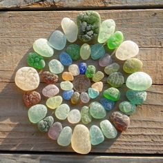 ...beach glass
